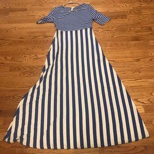 Matilda Jane The Road Ahead Striped Maxi Dress